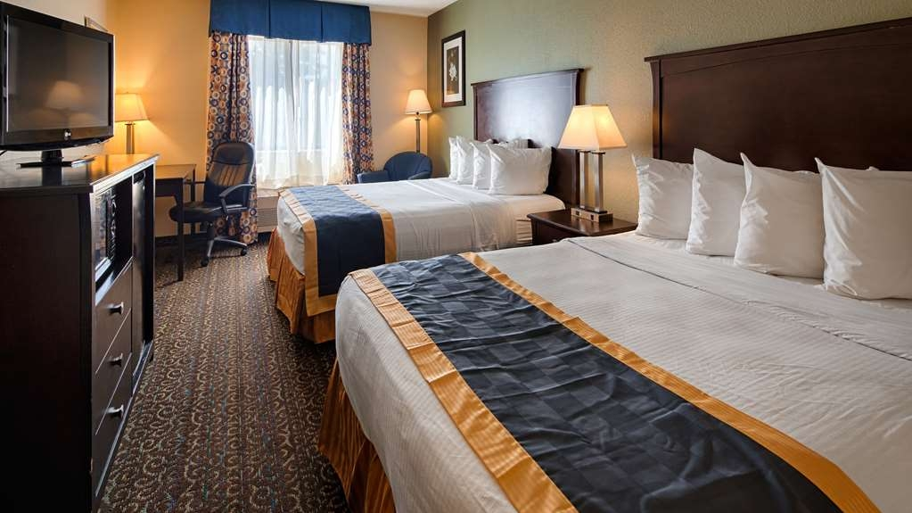 Best Western Richland Inn-Mansfield - Two Queen Bed Room