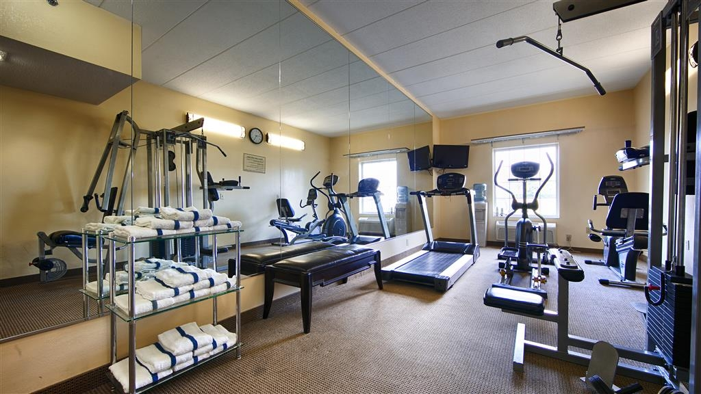 Best Western Mason Inn - Our fitness center allows you to keep up with your home routine even when you are not at home.