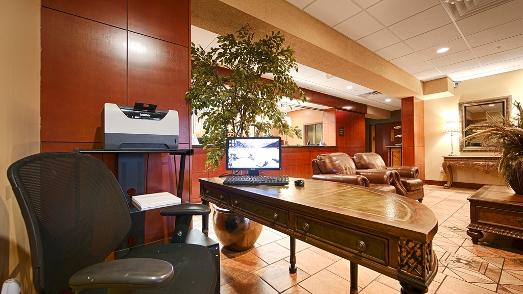 Best Western Plus Sandusky Hotel & Suites - Our business center is available to help you prepare travel itineraries send emails or browse the web.