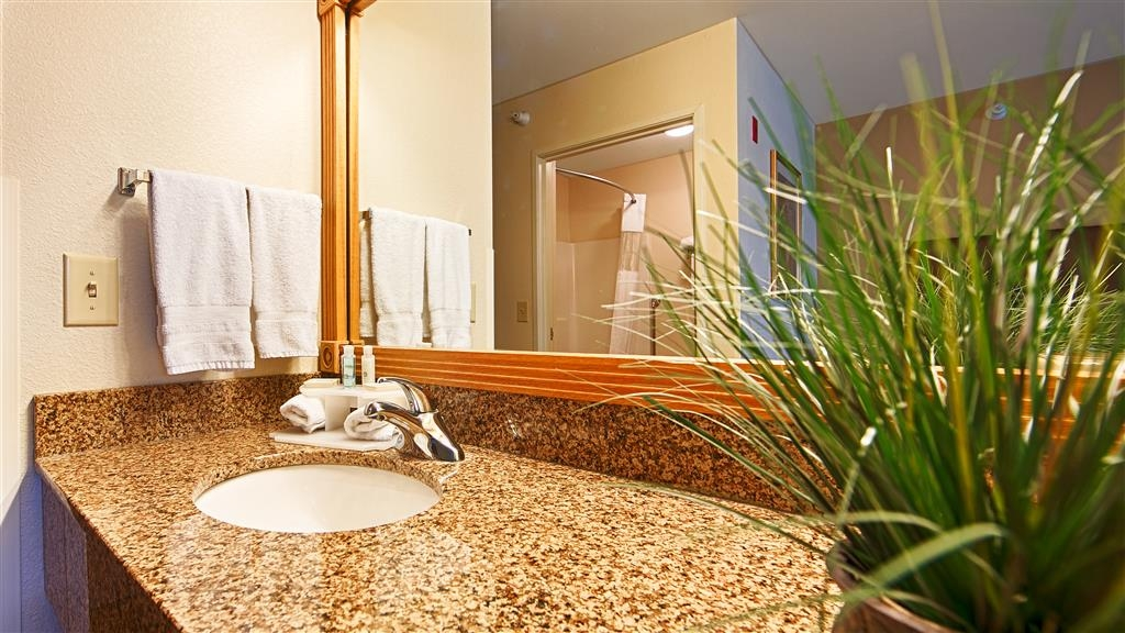 Best Western Wapakoneta Inn - Guest Bathroom