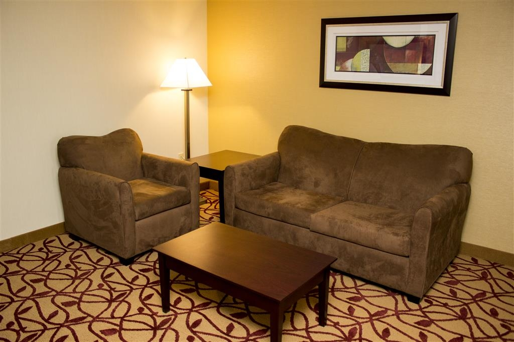 Best Western Park Hotel - We offer king contemporary business suites that come complete with a separate sitting area and sofabed.