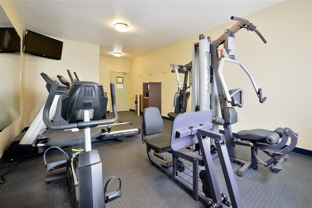 Best Western Plus University Inn - Fitnessstudio