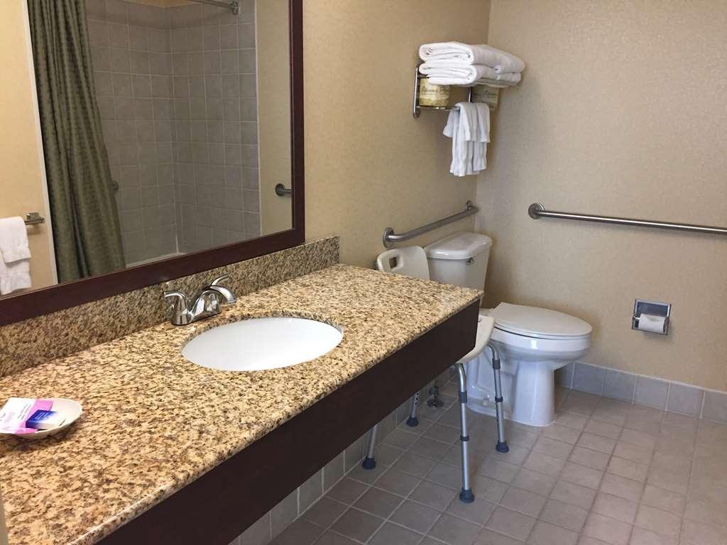 Best Western Plus Hannaford Inn & Suites - ADA Mobility Accessible Bathroom