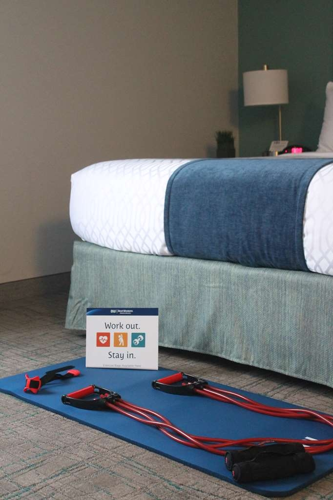 Best Western Toledo South Maumee - Workout in the privacy of your guestroom. Complimentary workout bags available at the Front Desk. Your routine won't miss a beat!