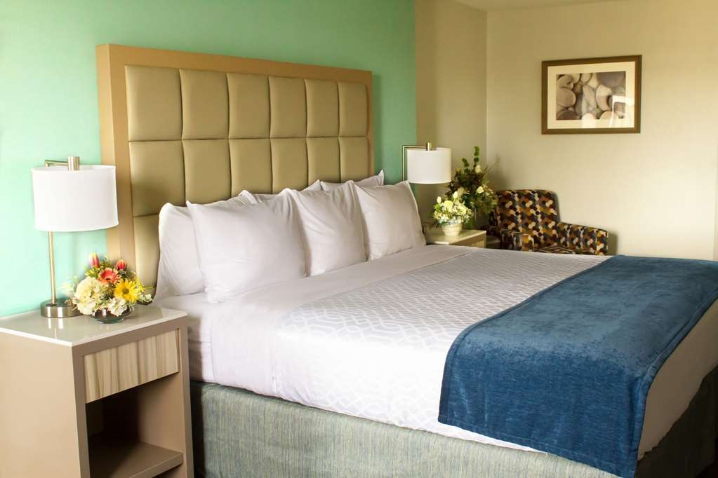 Best Western Toledo South Maumee - Designed for your comfort and convenience, this room features a pillow-top king bed, microwave and refrigerator.