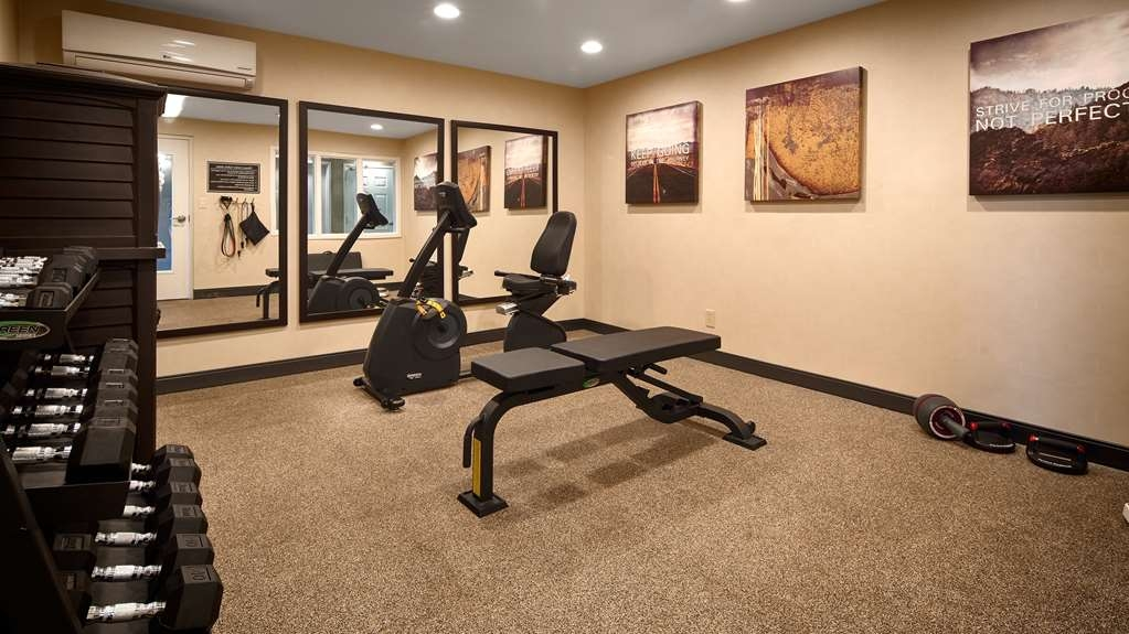 Best Western Hilliard Inn & Suites - Sala fitness