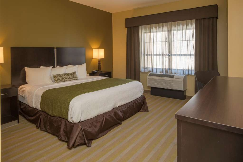 Best Western Plus Franciscan Square Inn and Suites Steubenville - Guestroom with One King Bed