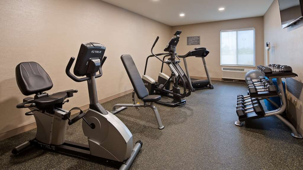 Best Western St. Clairsville Inn & Suites - Fitnessstudio