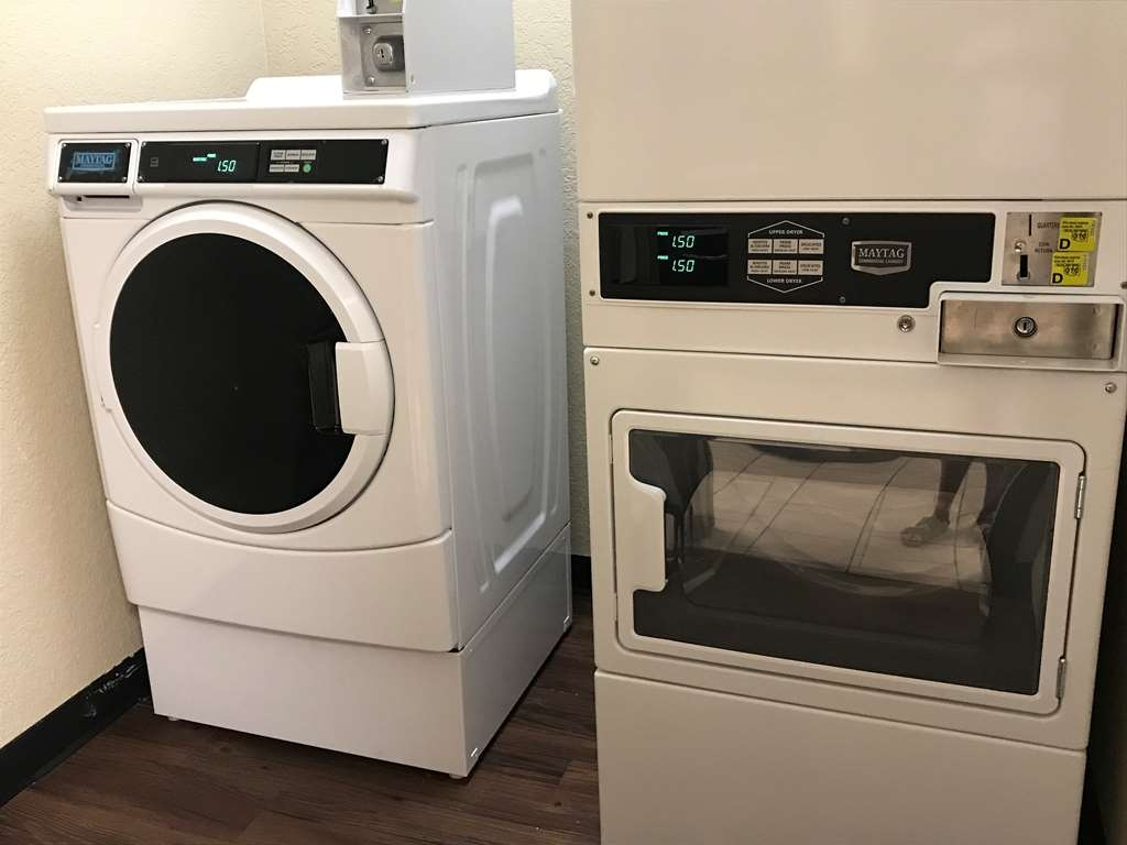 Best Western El Reno - Guest Laundry on site with Tide and Bounce.