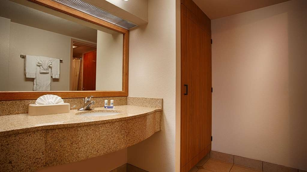Best Western Plus Saddleback Inn & Conference Center - Our executive suites have separate vanity and bathroom areas as well as a large personal closet.