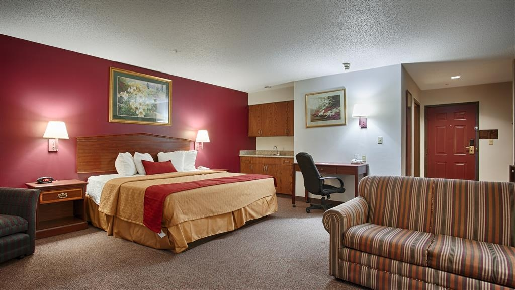 Best Western Okmulgee - Our spacious King Suites provide all the comforts of home at your fingertips.
