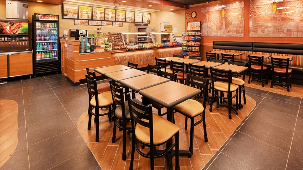 Best Western Airport - After a long day of traveling, enjoy the convenience of our on-site Subway Restaurant.