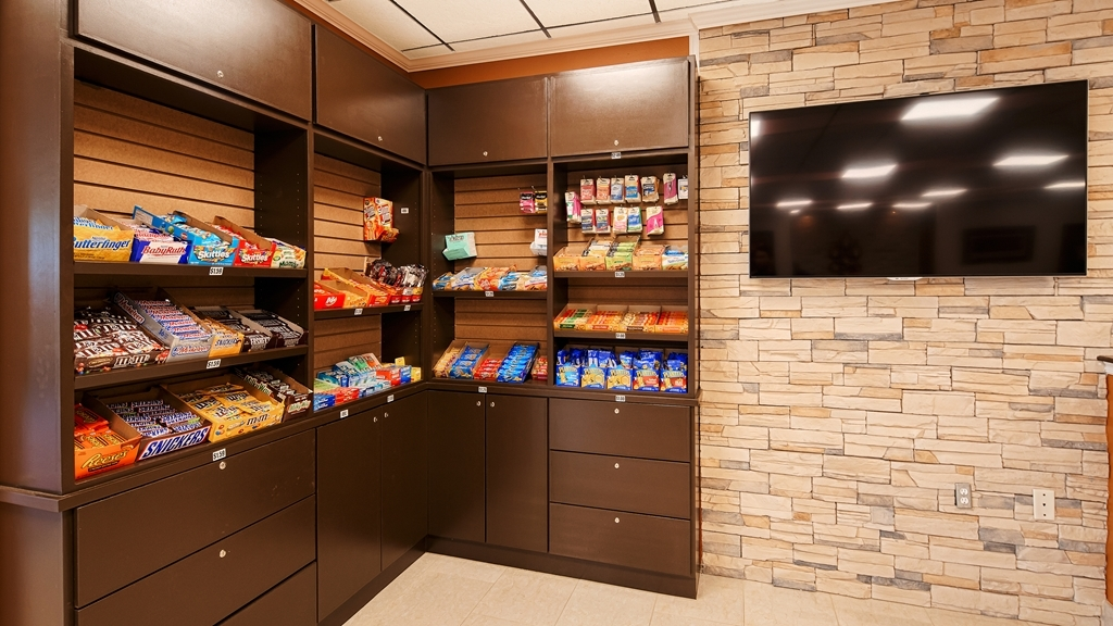Best Western Airport - Craving a snack or something to drink? Stop by our sundry shop located in the lobby.