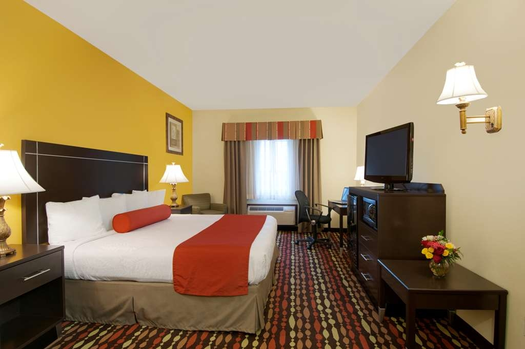 Best Western Greentree Inn & Suites - This king guest room includes a microwave and a refrigerator to make you feel at home.