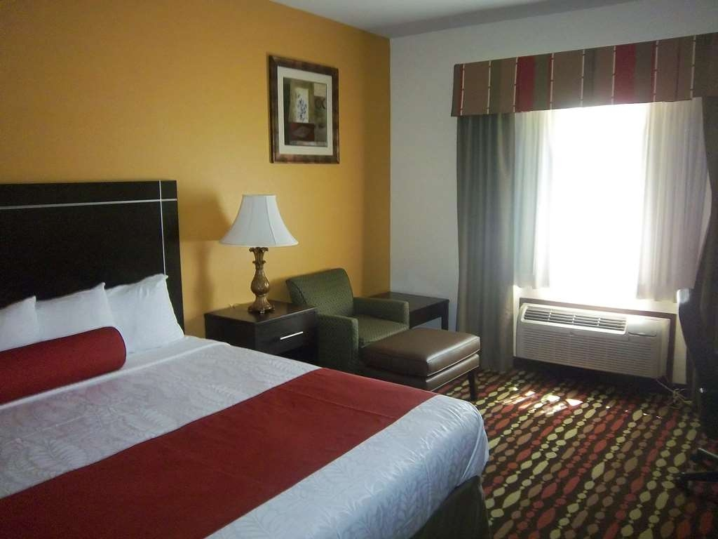 Best Western Greentree Inn & Suites - Catch some sleep or relax in the easy chair to watch some TV in our king guest room.