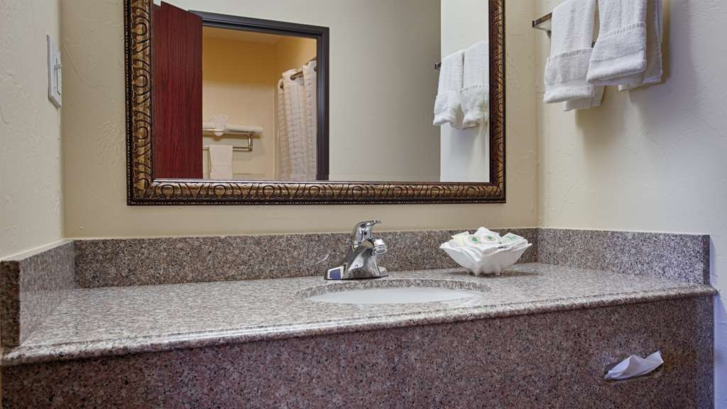 Best Western Greentree Inn & Suites - Our bathroom vanity offer plenty of space for you to unpack your necessities.