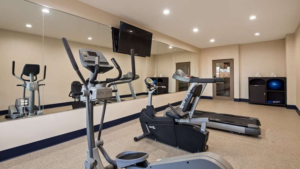 Best Western Plus Tulsa Inn & Suites - Fitnessstudio