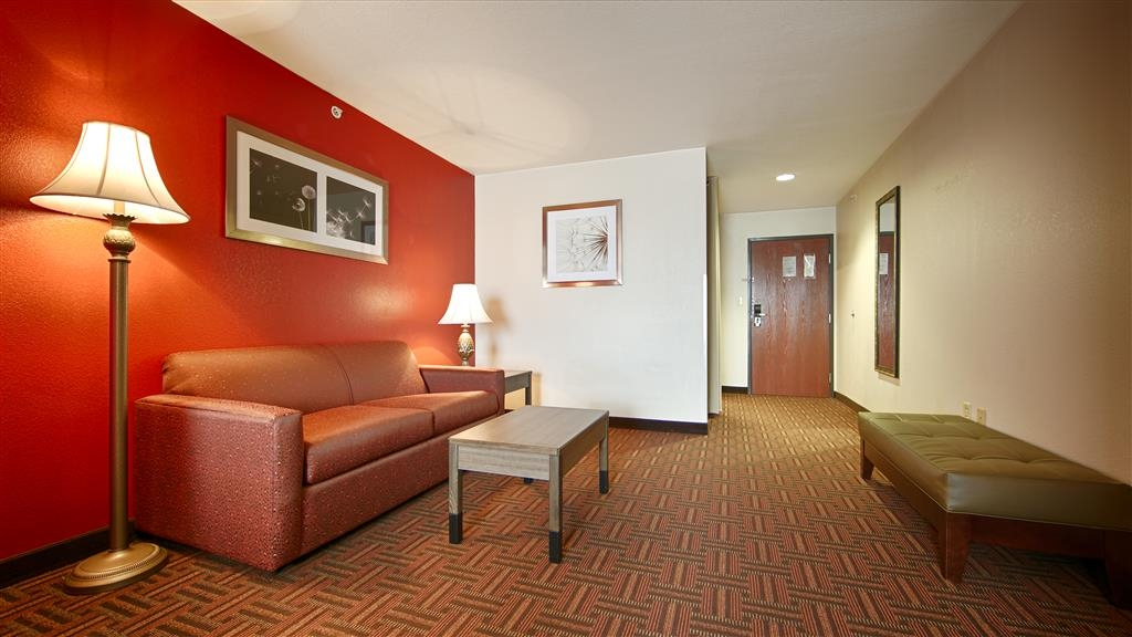 Best Western Plus Memorial Inn & Suites - Gästezimmer