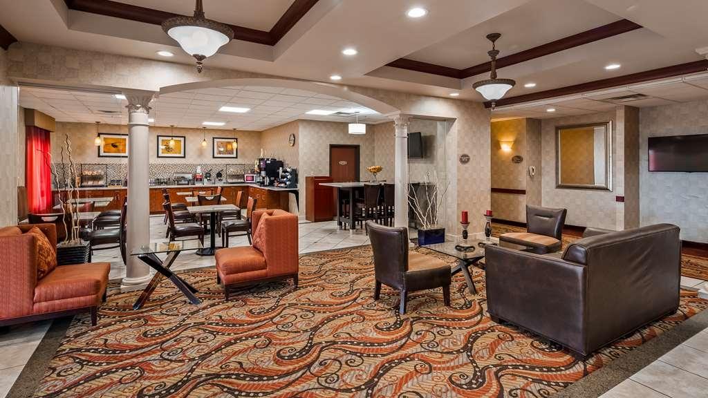 Best Western Plus Memorial Inn & Suites - Vue du lobby