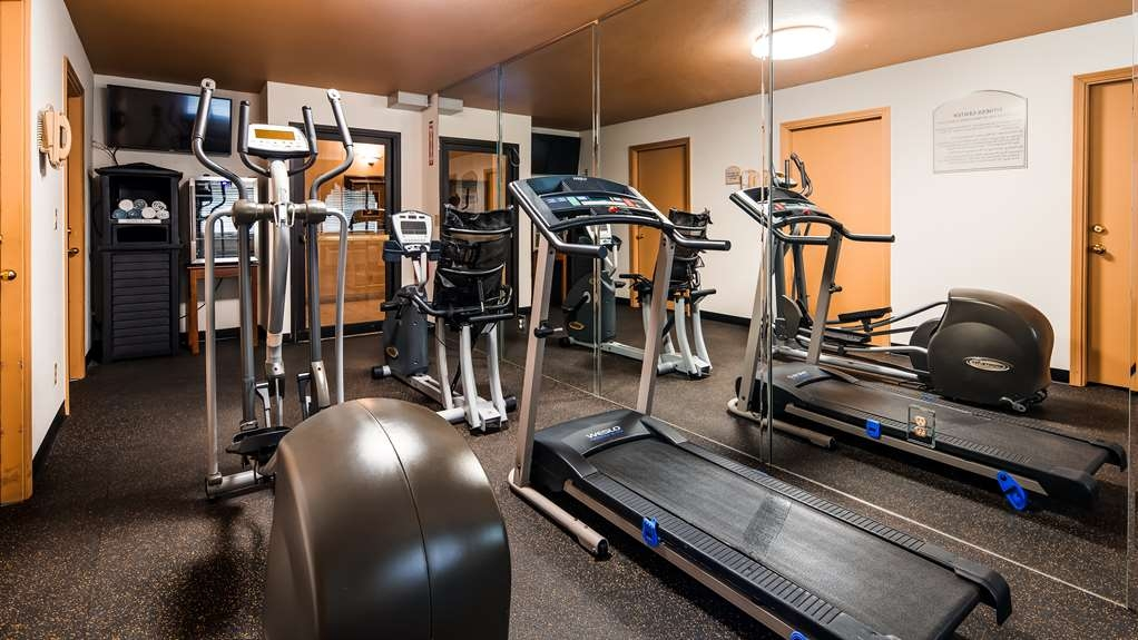Best Western Stateline Lodge - Stay active in our fitness center open daily from 5 a.m. - 10 p.m.