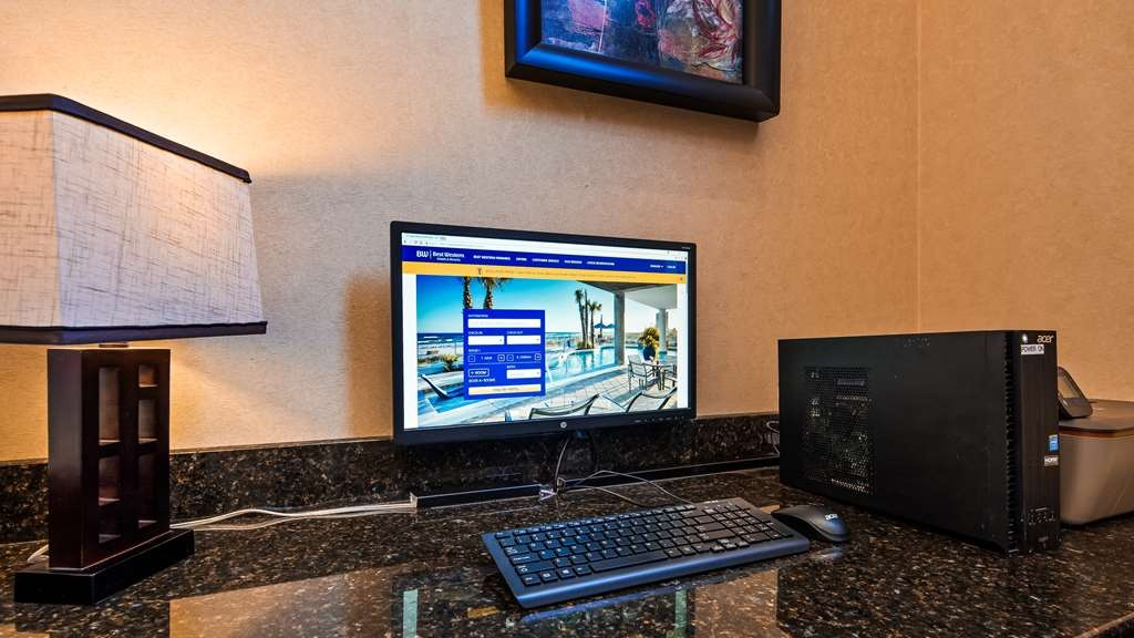 Best Western Stateline Lodge - Get some work done in our free 24 hour business center.