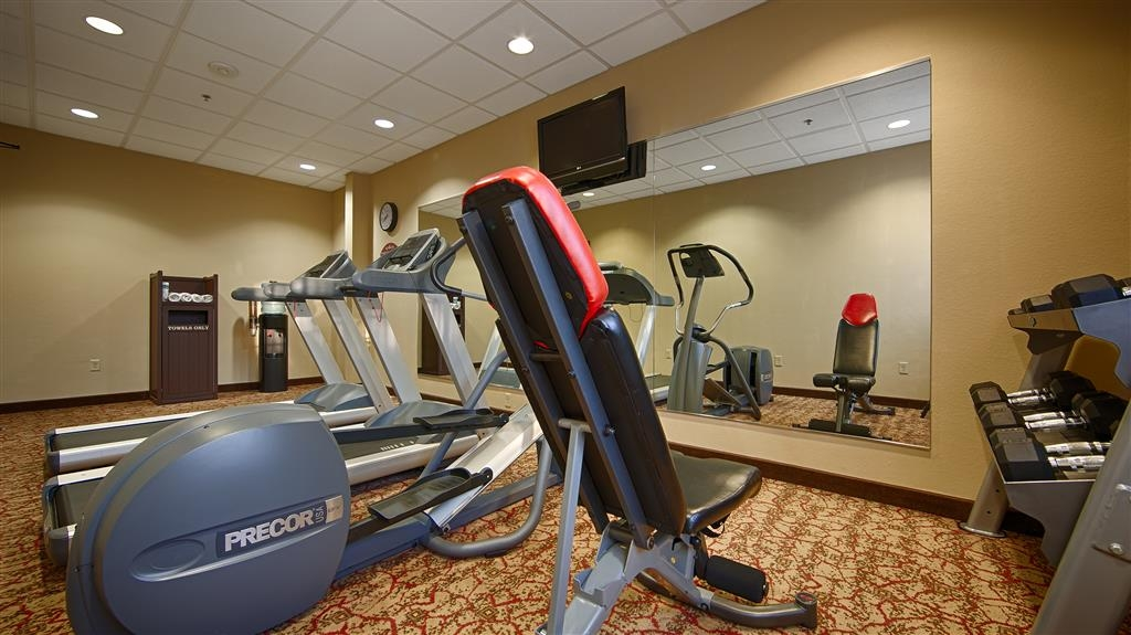 Best Western Plus Cimarron Hotel & Suites - Just because you're away from home doesn't mean your workout needs to take a time out.