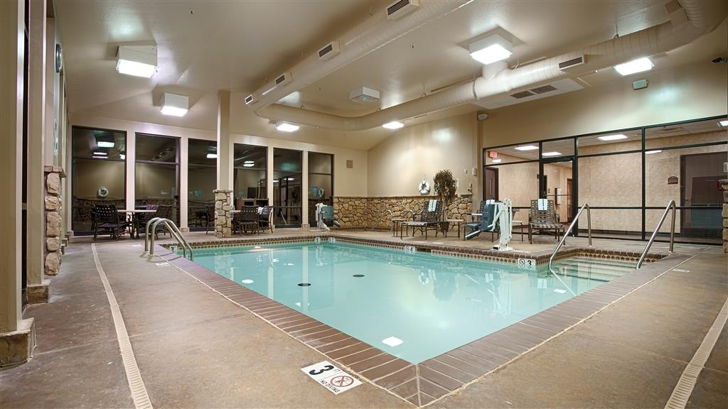 Best Western Plus Cimarron Hotel & Suites - Our heated, indoor pool and hot tub are open year round!