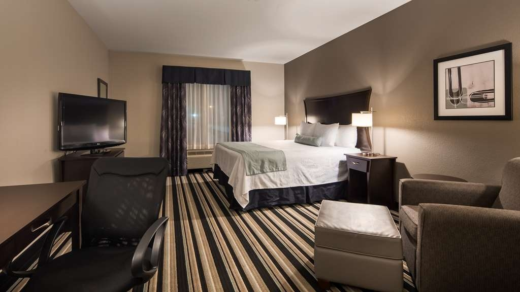 Best Western Plus Sand Bass Inn & Suites - King Guest Room