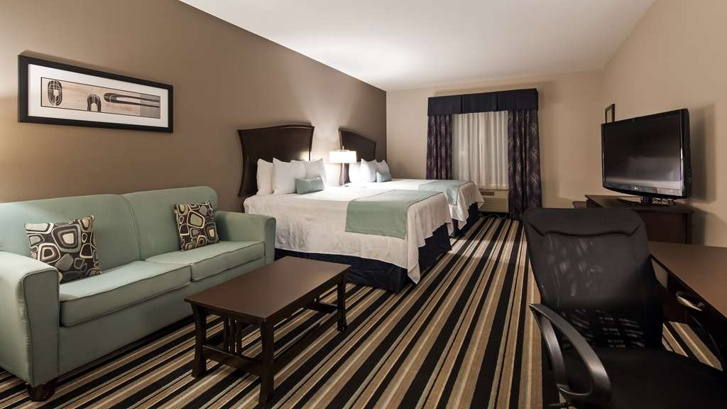 Best Western Plus Sand Bass Inn & Suites - Two Queen Guest Room