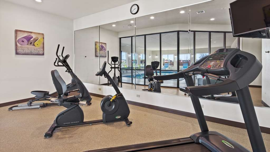 Best Western Lindsay Inn & Suites - There is no need to take a break from your regular fitness routine during your stay with us.