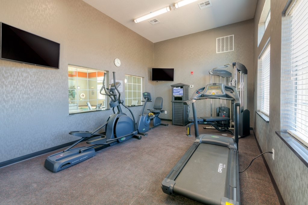 Best Western Plus Coweta's 1st Hotel - There is no need to take a break from your regular fitness routine during your stay with us.