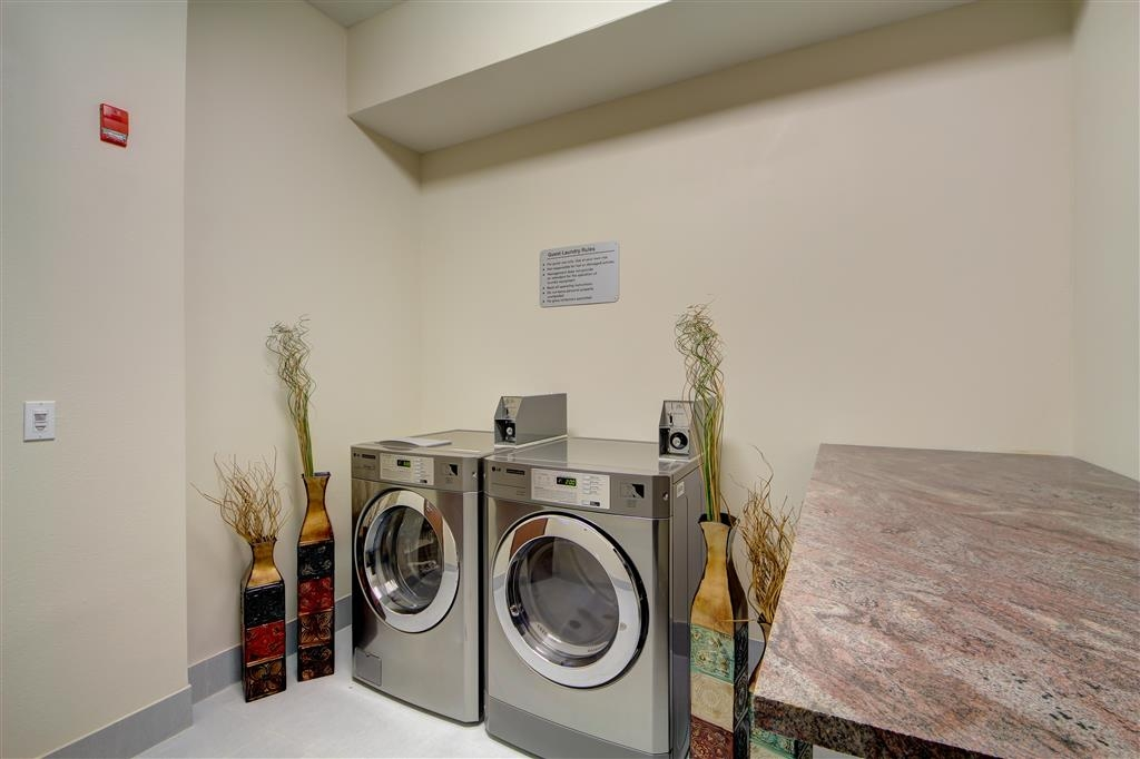Best Western Plus The Inn & Suites at Muskogee - Utilize our guest laundry and keep your clothes clean while on the road.