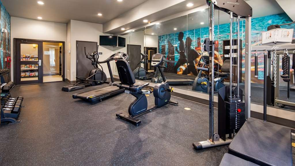 Best Western Plus Ardmore Inn & Suites - exercise chambre