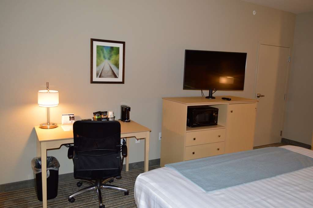 Best Western Plus Norman - Our King Guest Room is the perfect place to relax after a long day of travel or work.