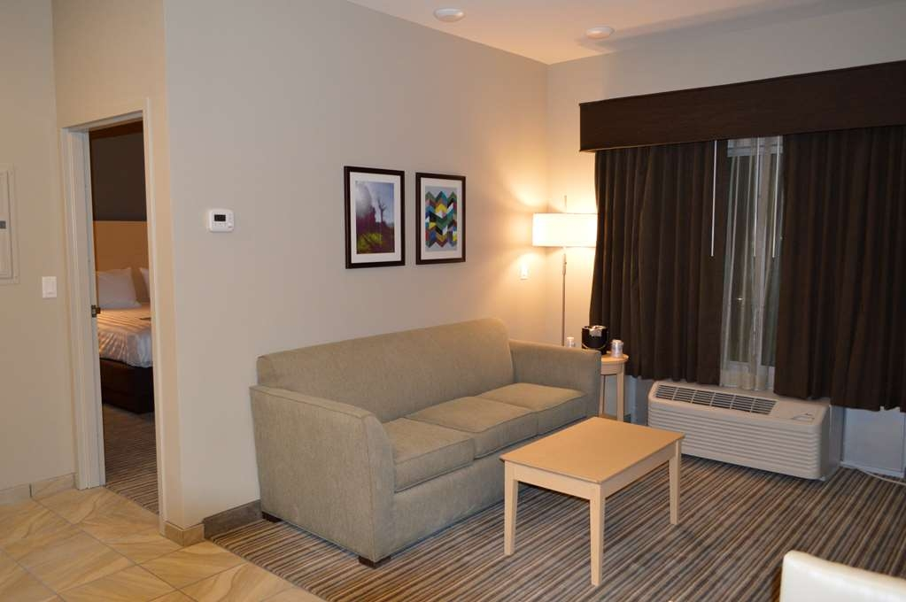Best Western Plus Norman - Enjoy some time on the sofa in one of our King Suites.