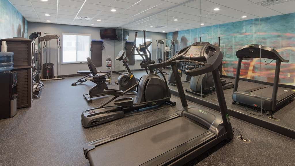 Best Western Plus Wewoka Inn & Suites - Fitnessstudio