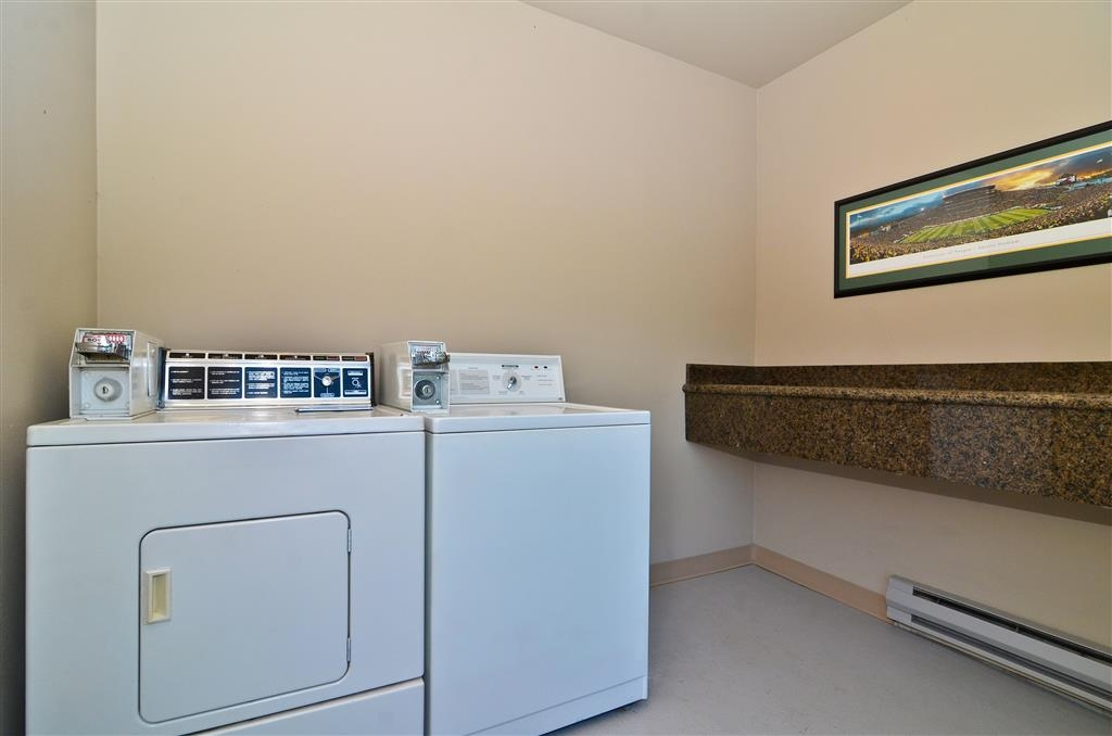 Best Western New Oregon - Enjoy the convenience of an on-site, guest only laundry facility.