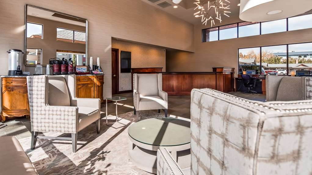 Best Western New Oregon - Vue du lobby