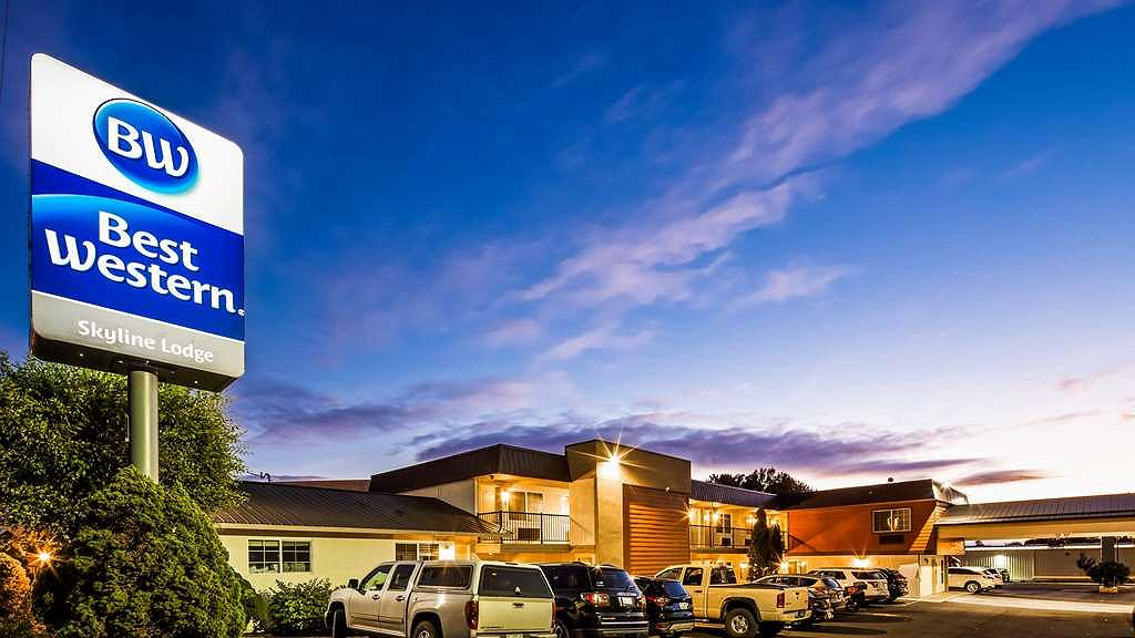 Best Western Skyline Motor Lodge - Aussenansicht
