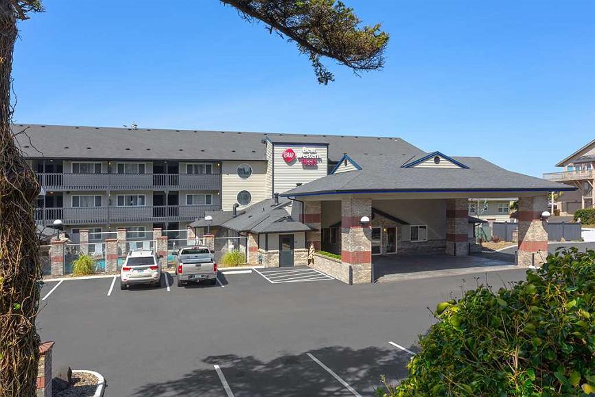 Best Western Plus Lincoln Sands Oceanfront Suites - Aussenansicht