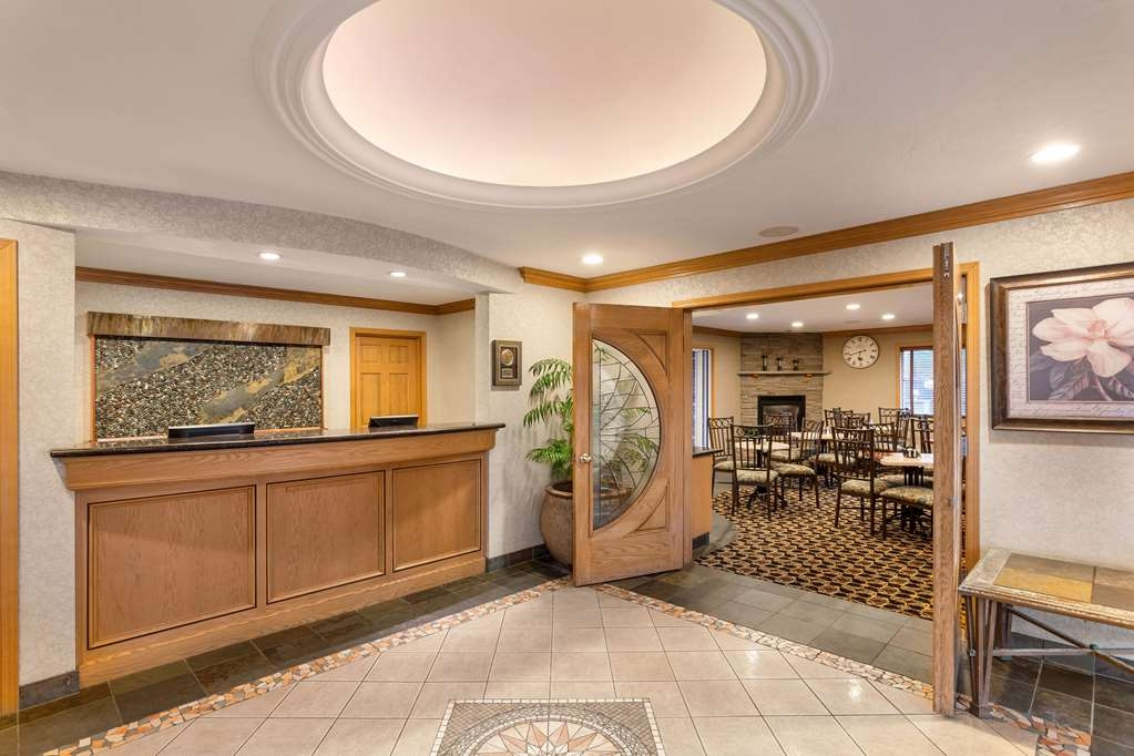 Best Western Plus Lincoln Sands Oceanfront Suites - Vue du lobby