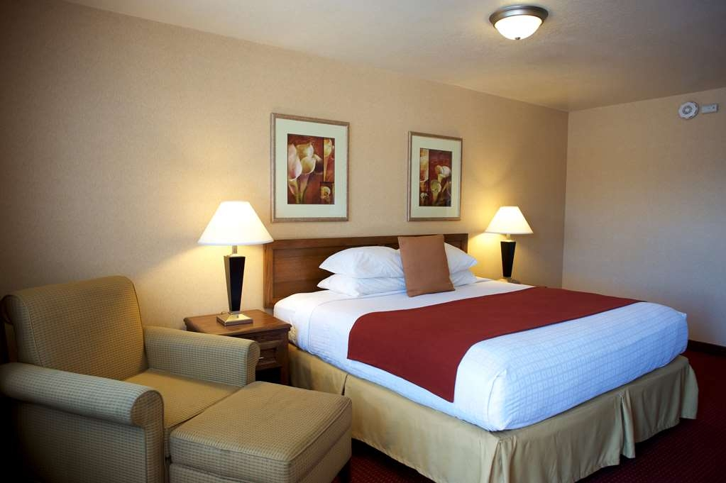 Best Western Grants Pass Inn - Nuestras habitaciones son amplias y cómodas.