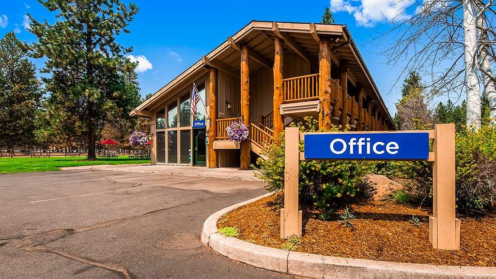Best Western Ponderosa Lodge - Area esterna