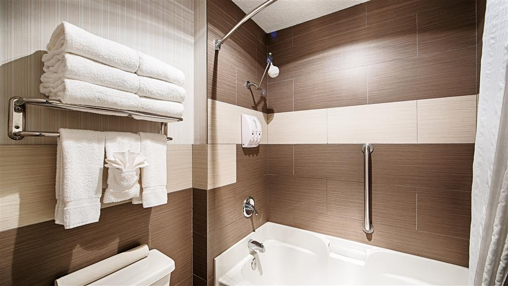 Best Western Corvallis - Enjoy getting ready for the day in our fully equipped guest bathrooms.