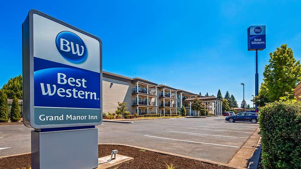 Best Western Grand Manor Inn - Aussenansicht