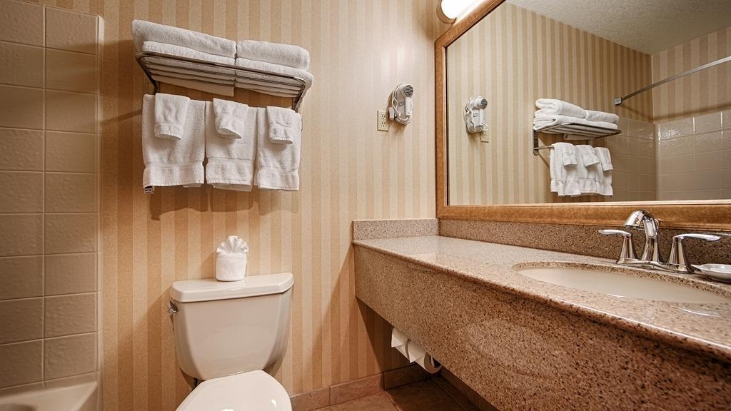 Best Western Plus Landmark Inn - Baño