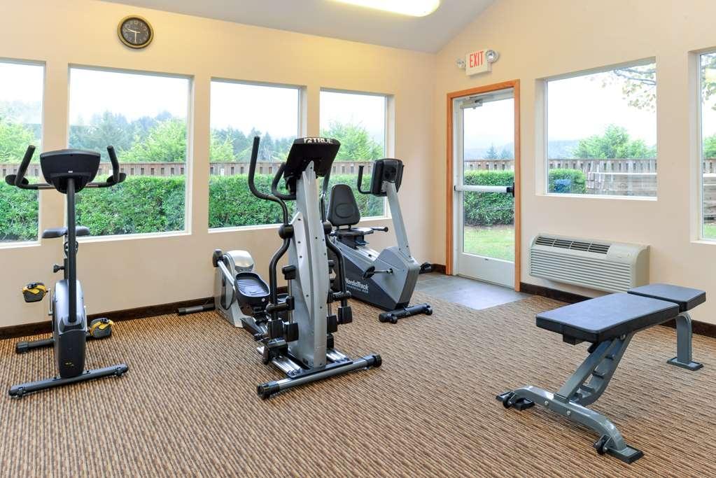 Best Western Plus Landmark Inn - sala de ejercicios