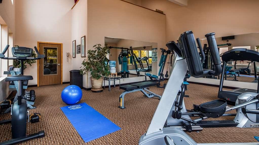 Best Western Plus Landmark Inn - Fitnessstudio