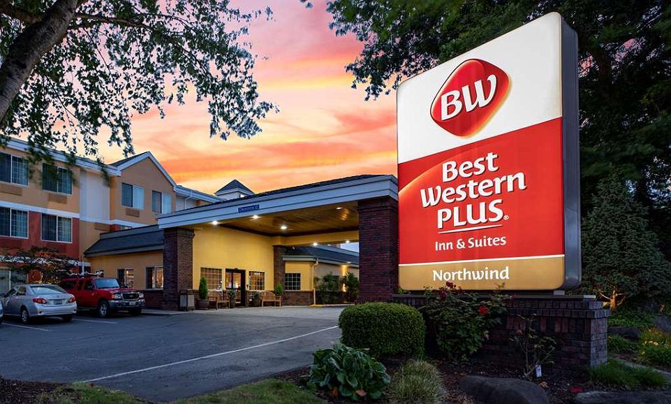 Best Western Plus Northwind Inn & Suites - Aussenansicht