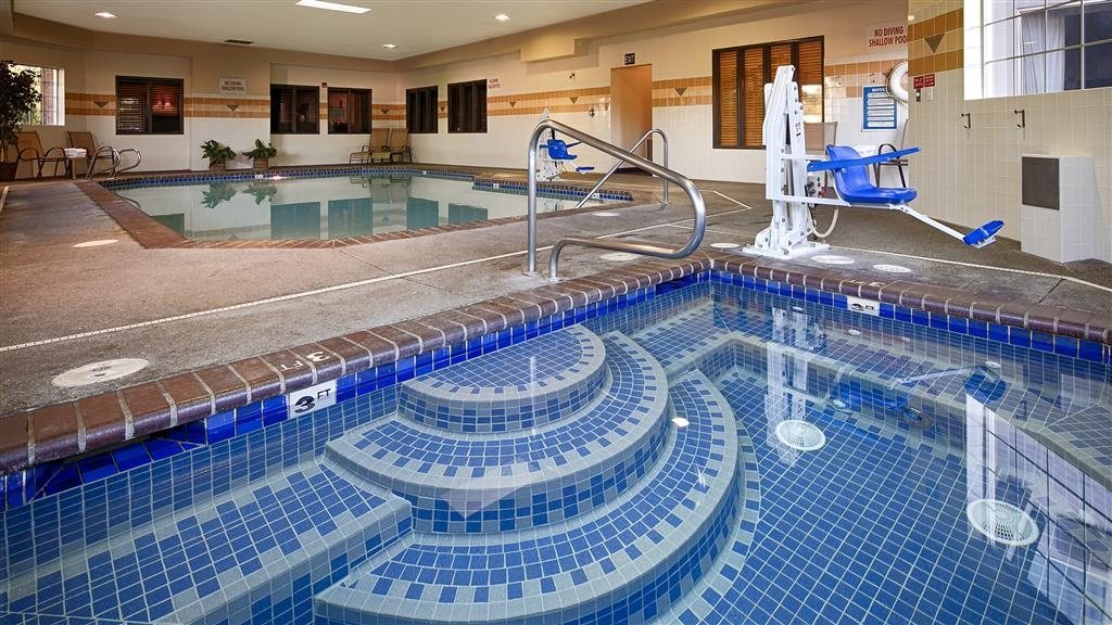 Best Western Plus Northwind Inn & Suites - Nothing beats the hot tub after a long day of work or travel.